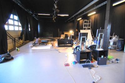 Bygging av installasjoner på verkstedet.